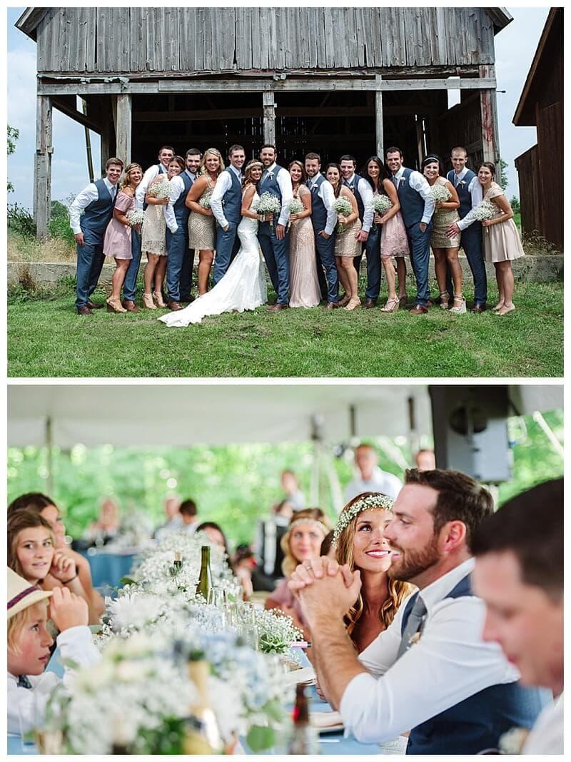 lake wedding, barn wedding, tent wedding, Michigan wedding, Ann Arbor wedding, Detroit wedding, Editors Pick The Knot wedding