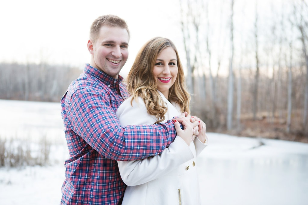 Engagement Session Photographs Michigan