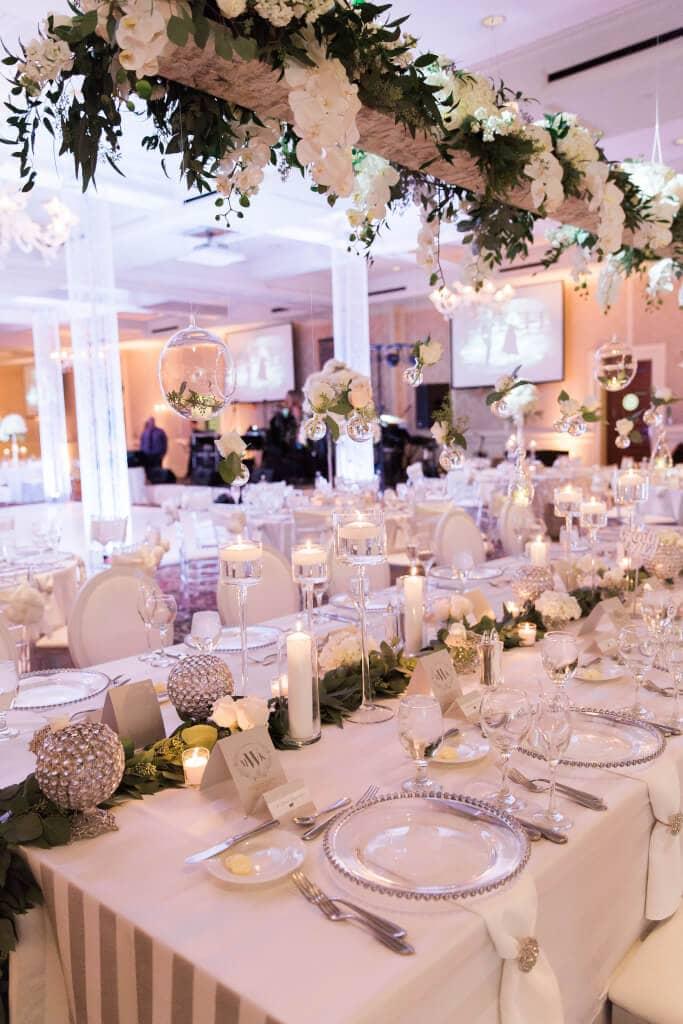 Wedding Planner Detroit Michigan Royal Park Hotel Rochester Hills White Outdoor Ceremony