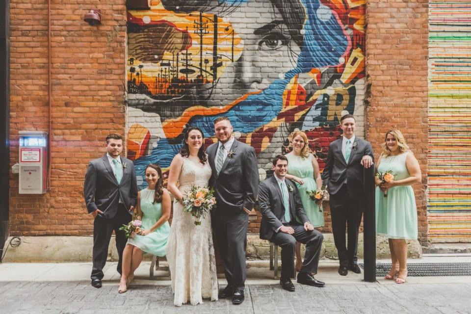 Stephanie And Josh A Detroit Wedding
