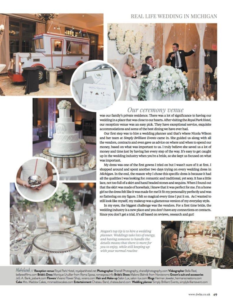Wedding Planner, wedding planner Michigan, luxury wedding planner, Destination weddings