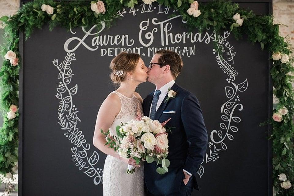 Lauren Tom Ford Piquette Plant Wedding
