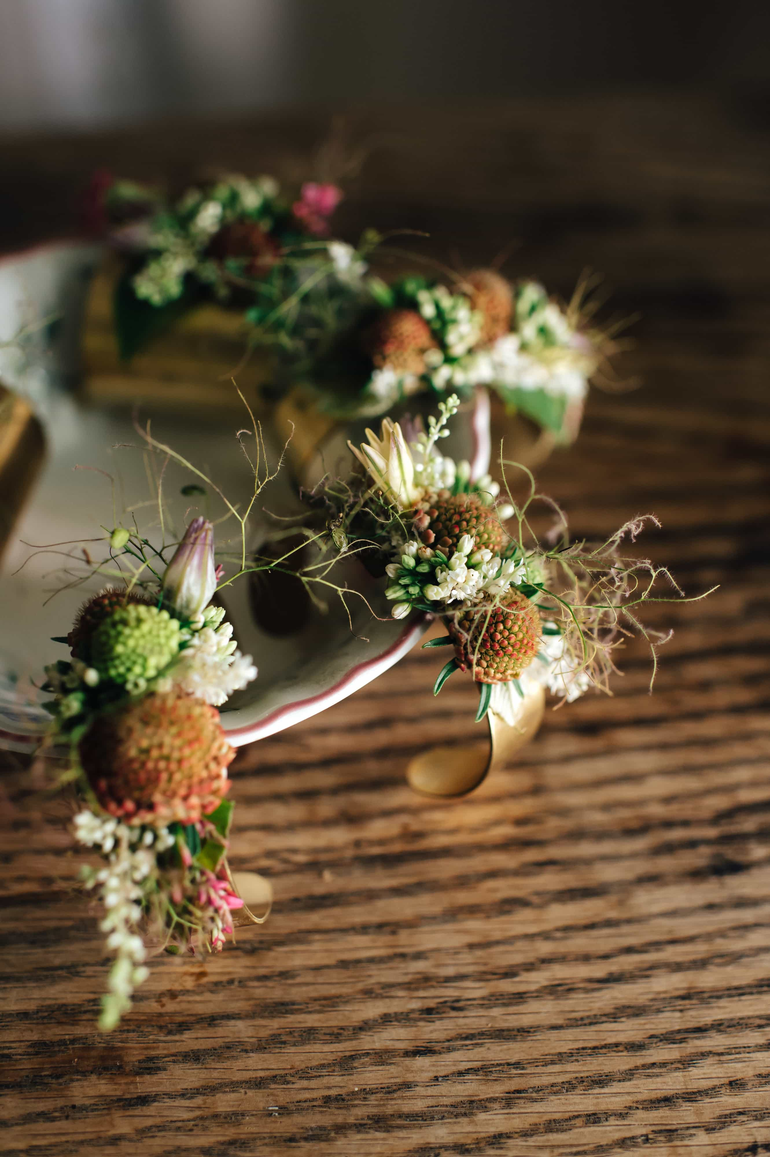 gnome grown flowers, simply brilliant events