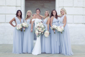 simply brilliant events, detroit destination wedding, detroit bride, lovely bridesmaids
