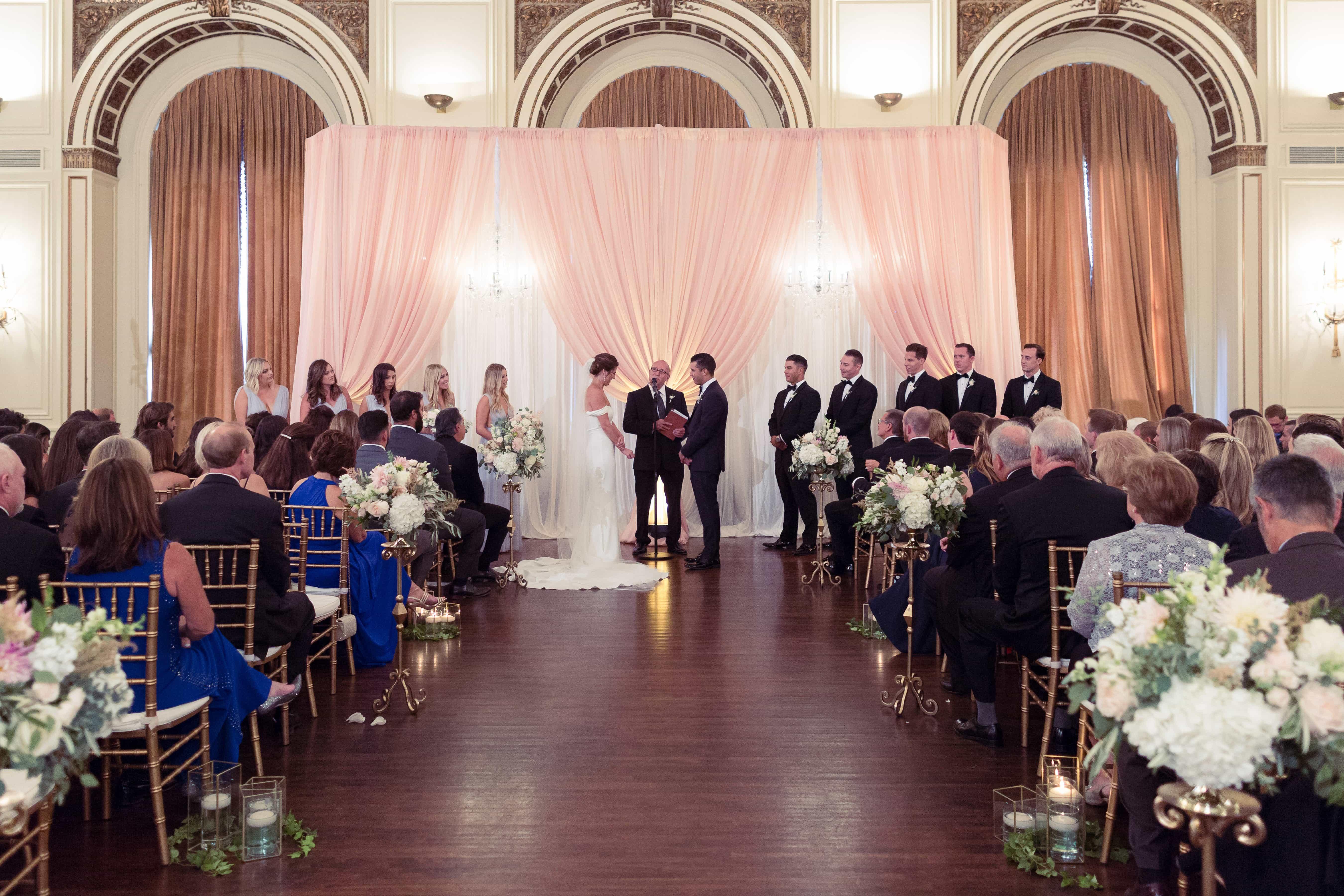wedding ceremony, simply brilliant events