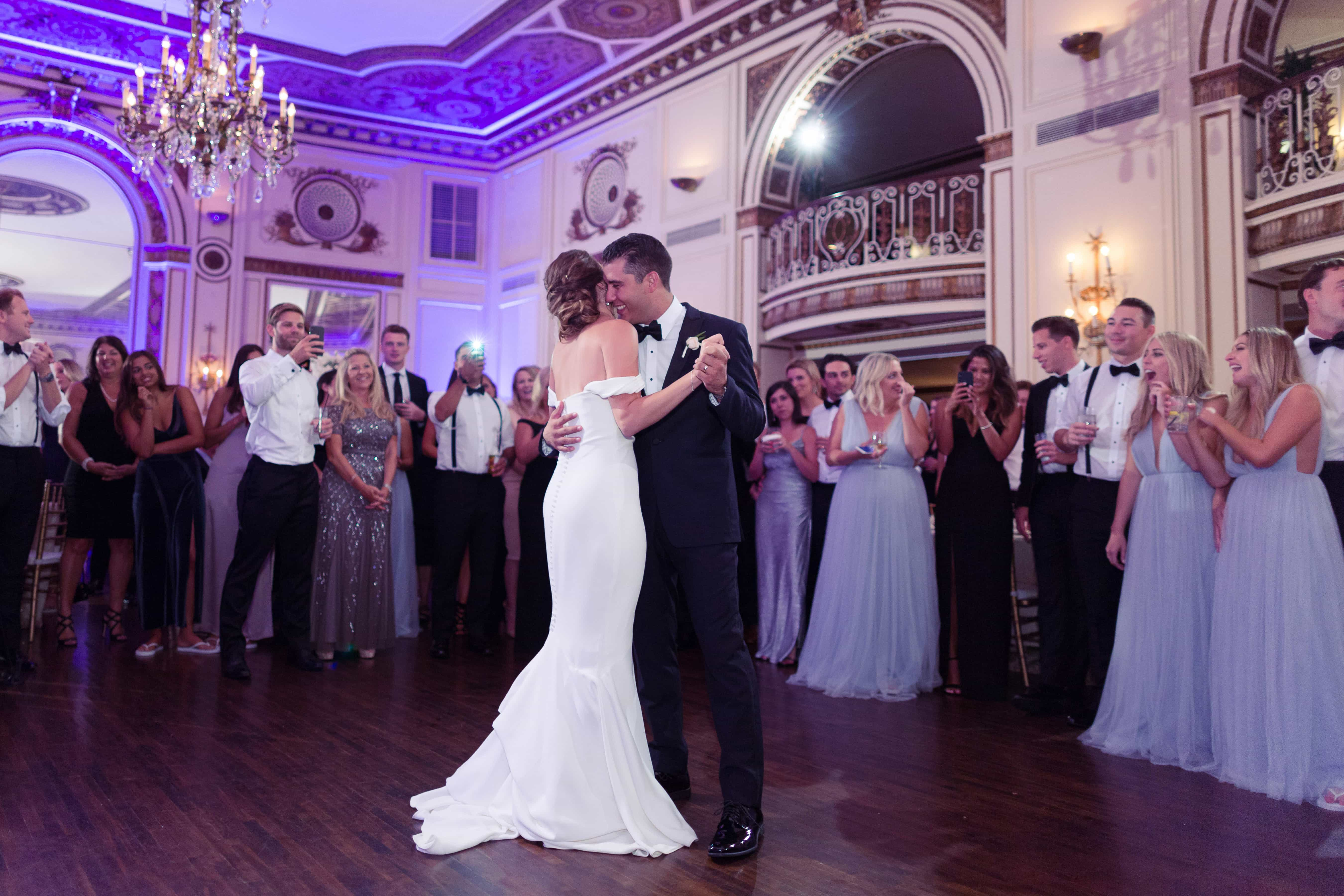 first dance, simply brilliant events, colony club