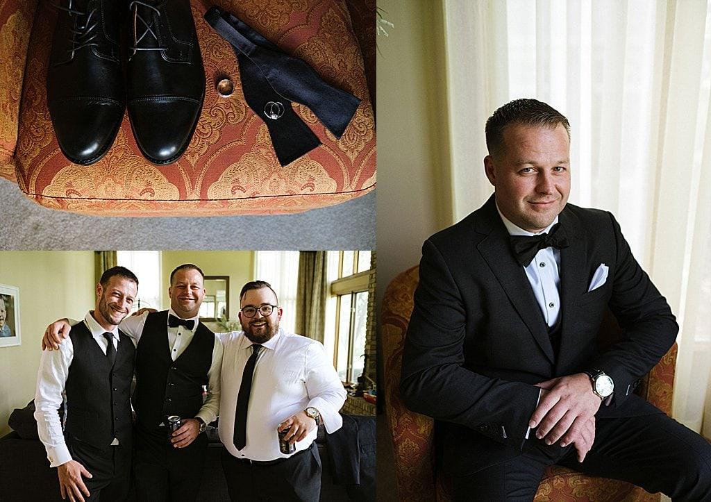 Elegant Ski Resort Wedding, groom, simply brilliant events, elegant wedding, michigan