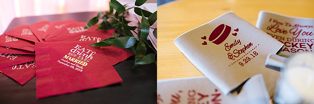 Elegant Ski Resort Wedding, simply brilliant events, favors