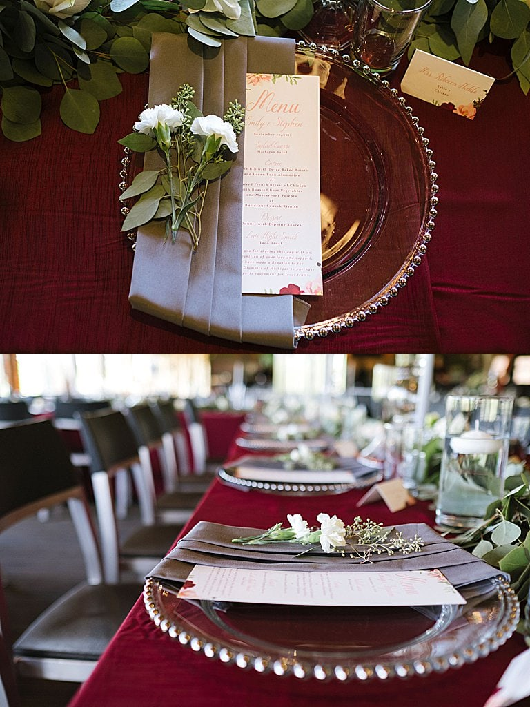 Elegant Ski Resort Wedding, simply brilliant events, elegant wedding, michigan