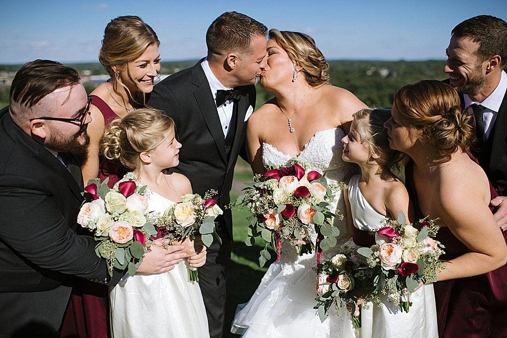 Elegant Ski Resort Wedding, simply brilliant events, elegant wedding, michigan